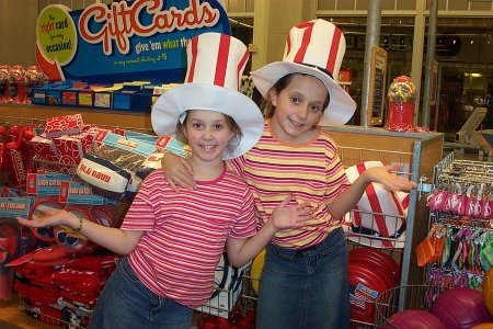 Patriotic Girls